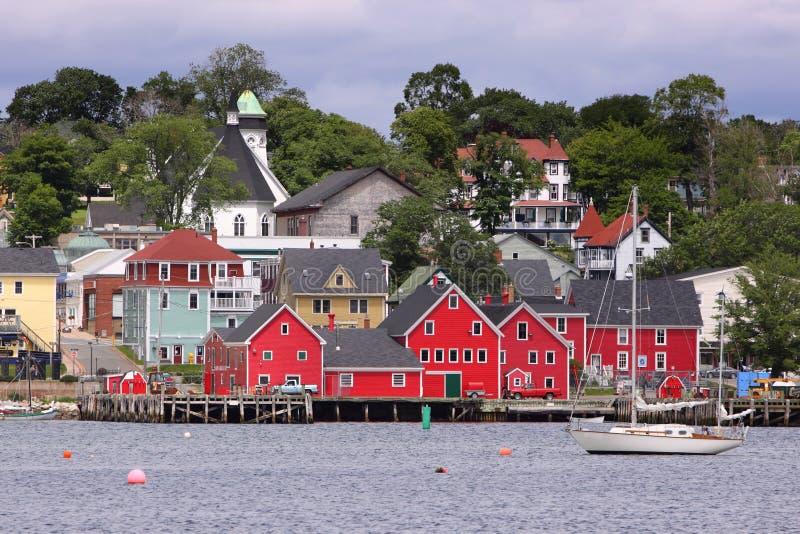 Lunenburg, Nova Scotia fotos de stock royalty free