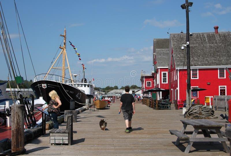 Lunenburg, Nova Scotia foto de archivo
