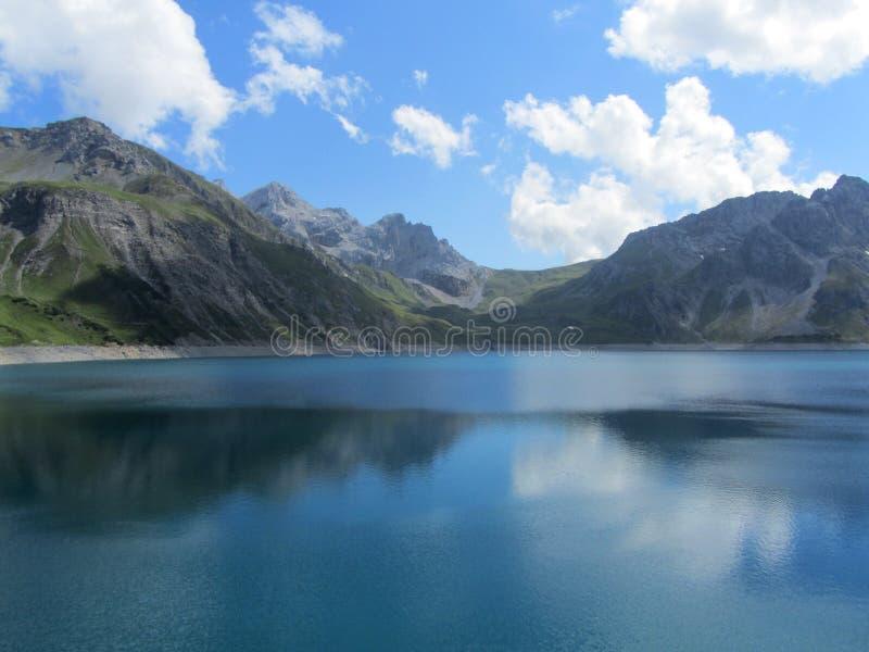 Lunersee, Αυστρία στοκ εικόνες