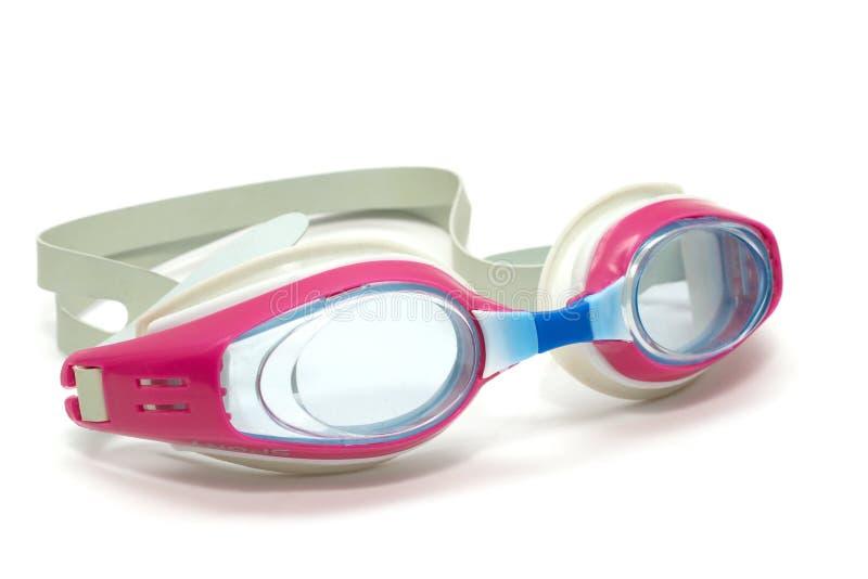 Lunettes de natation images libres de droits