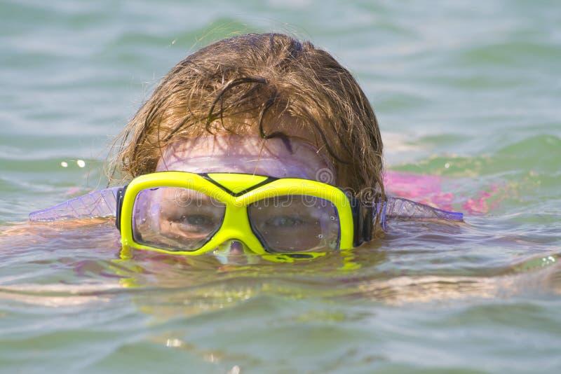 lunettes de plongée photographie stock libre de droits