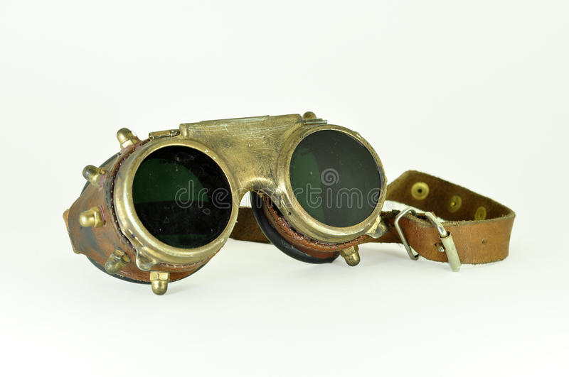 Lunettes de Steampunk photo stock