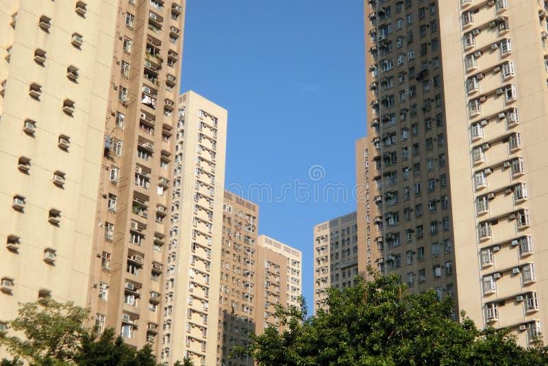 Lung Poon Court på Diamond Hill Hong Kong royaltyfri fotografi