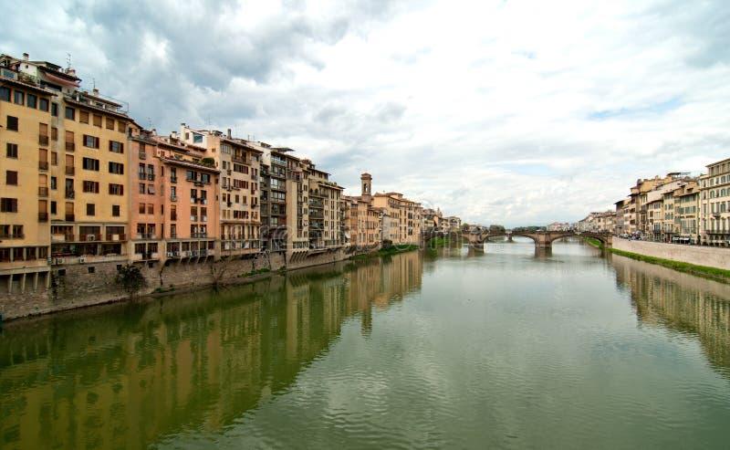 Lungarni, Florencia fotografía de archivo