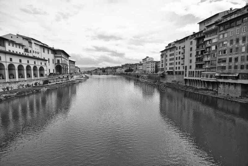 Lungarni, Florencia fotografía de archivo libre de regalías