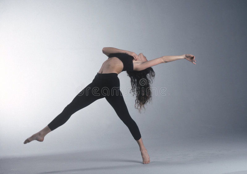 Lunge. Dancer back stretch