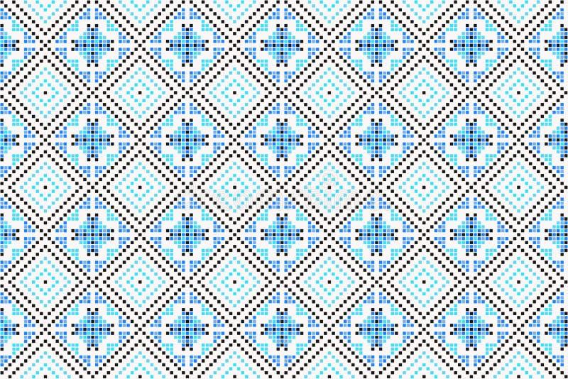 Lungo blu illustrazione vettoriale