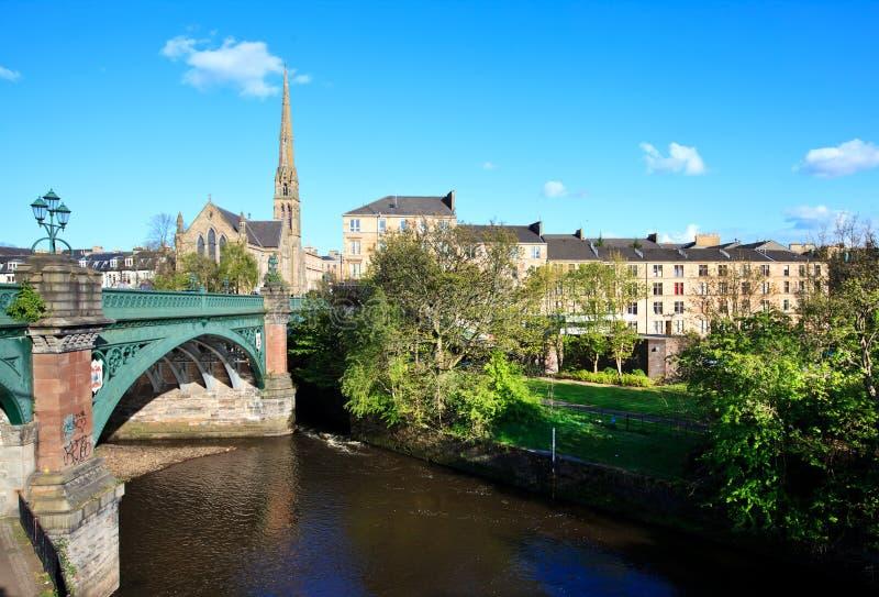 Paesaggio urbano di Glasgow immagine stock