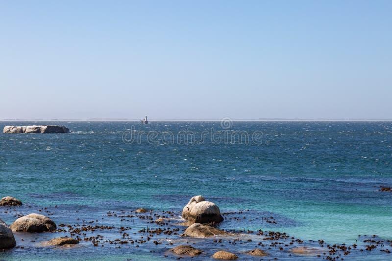 Lungo la penisola del Capo nel Sudafrica immagine stock libera da diritti