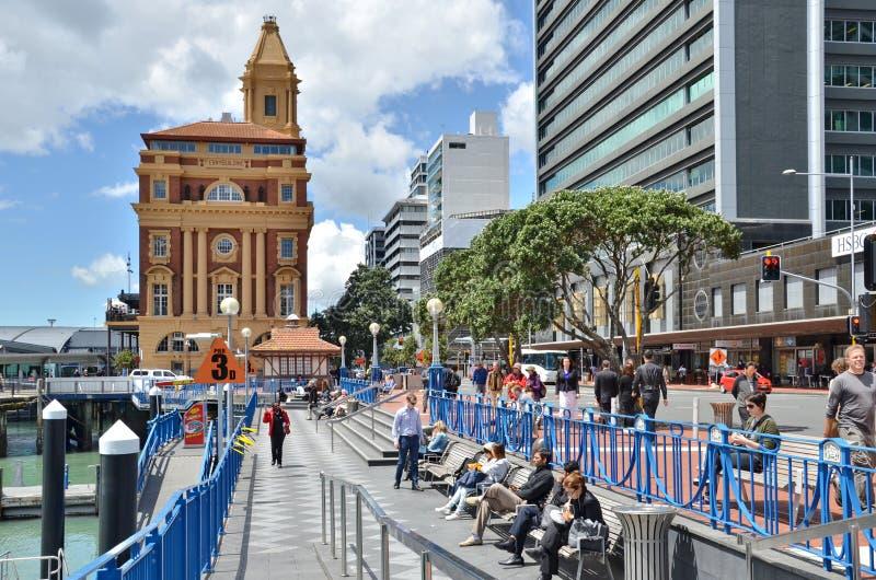 Lungomare a Auckland fotografie stock