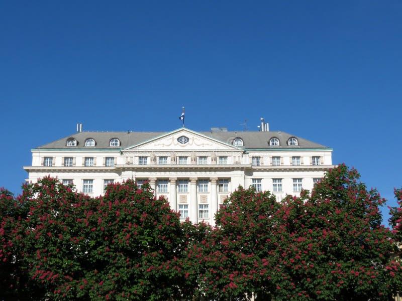 Lungomare dell'hotel, l'hotel famoso a Zagabria immagini stock libere da diritti