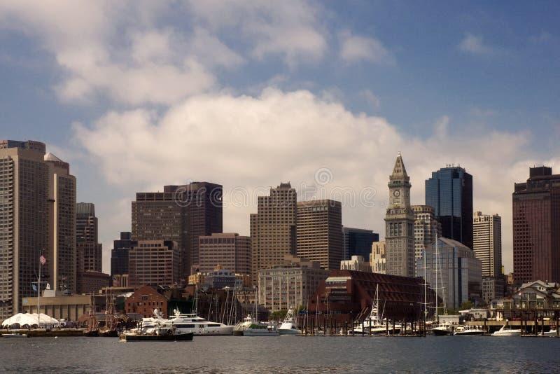 Lungomare di Boston fotografia stock libera da diritti