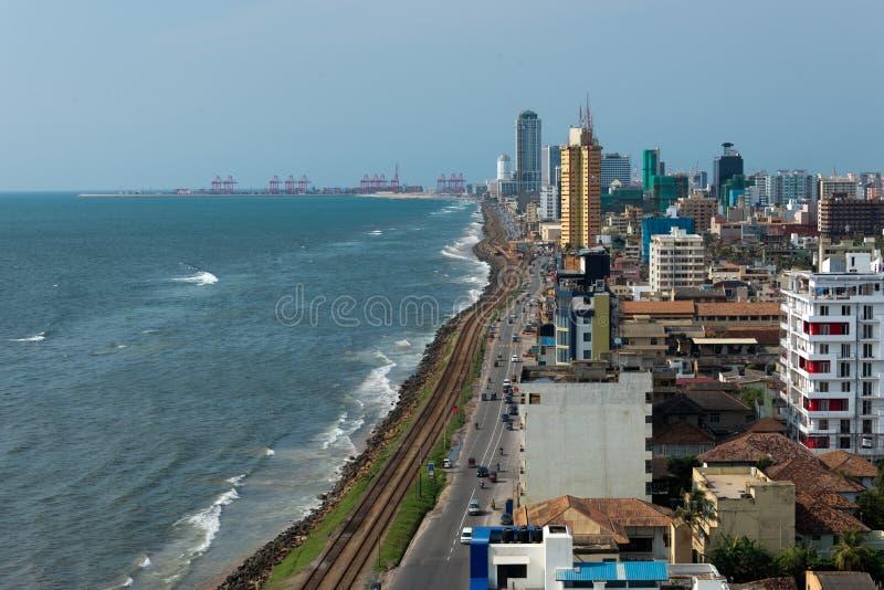 Lungomare di Colombo immagini stock libere da diritti