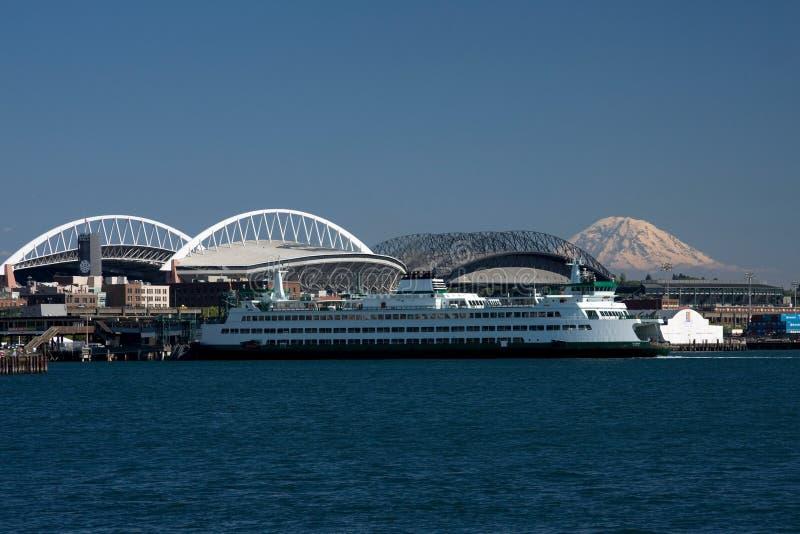 Lungomare di Seattle immagine stock libera da diritti