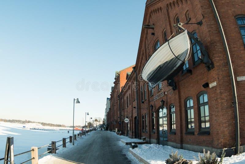 Lungonmare di Helsinki fotografia stock libera da diritti