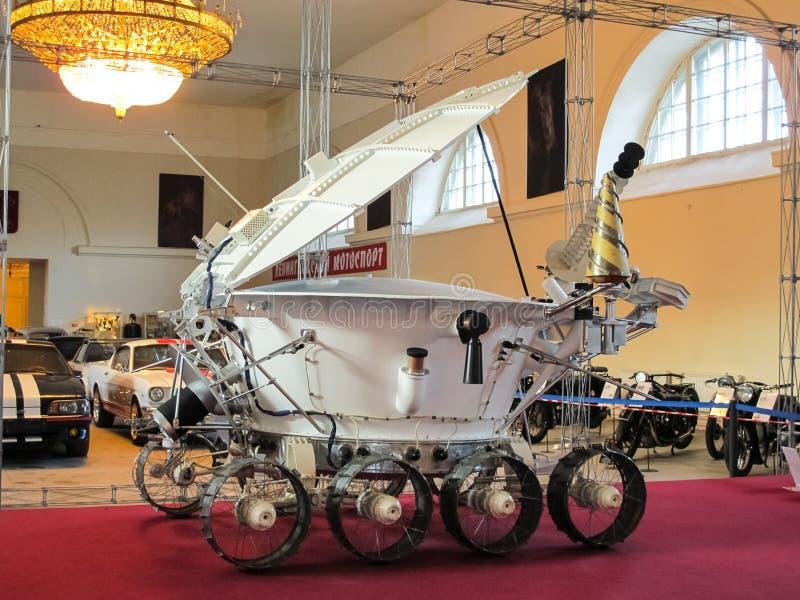 Lunokhod-1, вездеход космоса Советского Союза луны стоковые фотографии rf