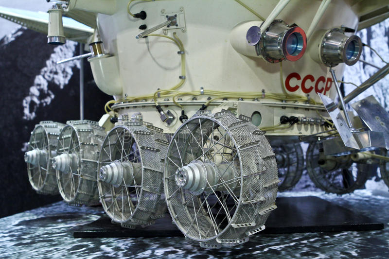 Download Lunokhod 1 moon vehicle editorial image. Image of space - 24533240