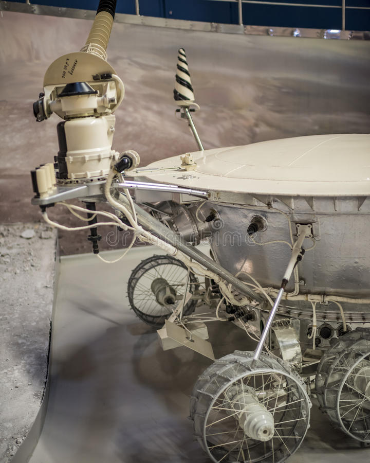 Lunokhod-1 -the first in the world automatic self-propelled unit royalty free stock photography