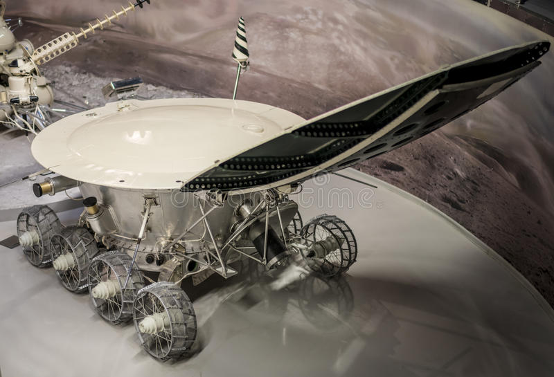 Lunokhod-1 -the first in the world automatic self-propelled unit royalty free stock images