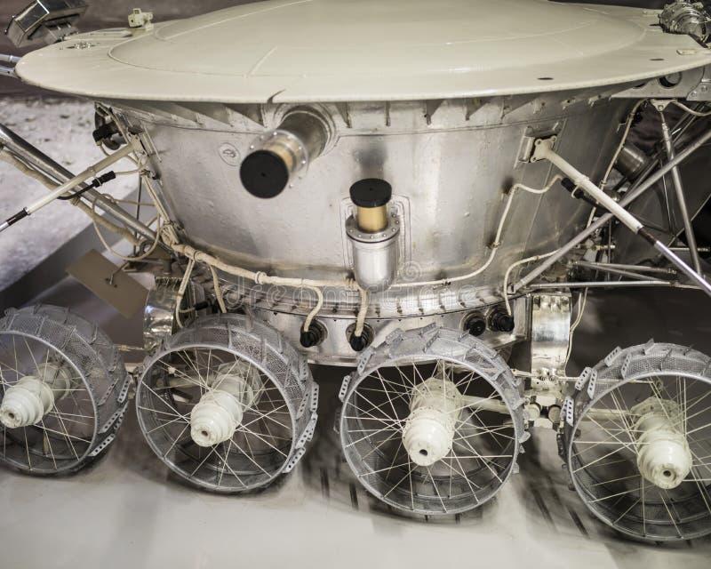 Lunokhod-1 - pierwszy w światowej automatycznej samojezdnej jednostce obrazy royalty free