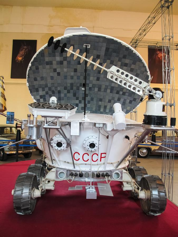 Lunokhod-1, Soviet Union space rover of the moon stock image