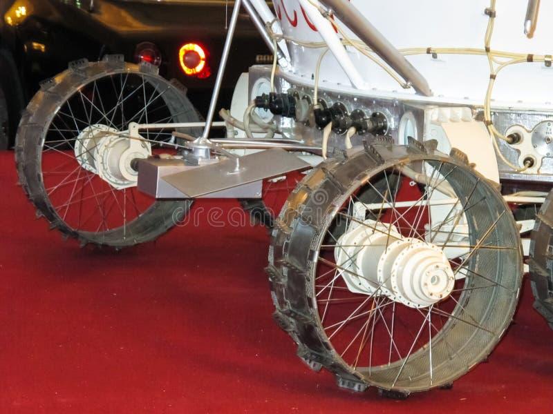 Lunokhod-1, vagabundo do espaço de União Soviética da lua imagem de stock