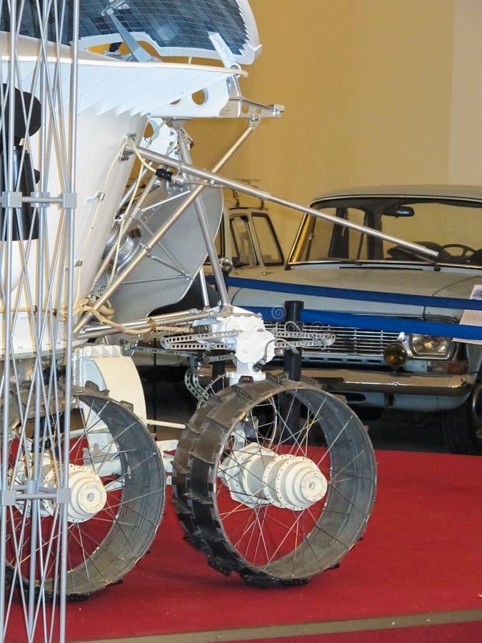 Lunokhod-1, vagabundo do espaço de União Soviética da lua imagem de stock royalty free