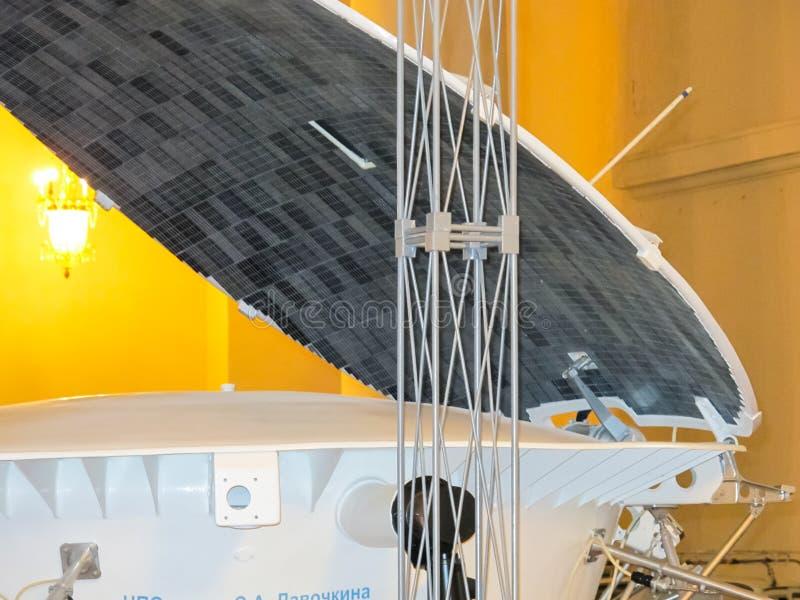 Lunokhod-1, vagabundo do espaço de União Soviética da lua fotos de stock