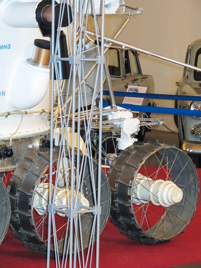 Lunokhod-1, vagabundo do espaço de União Soviética da lua fotos de stock royalty free