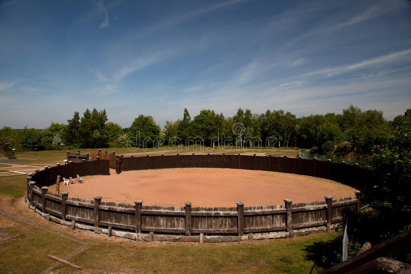 Download Lunt Roman Fort stock image. Image of gyrus, riding, coventry - 19449987