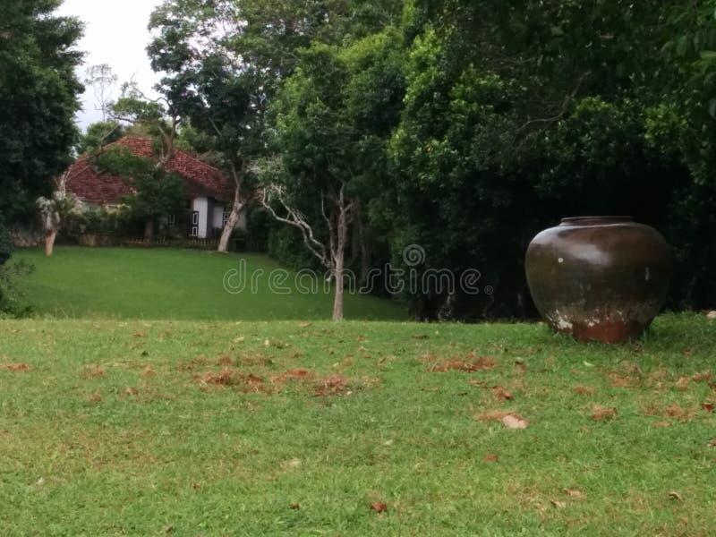 Lunuganga- Residence royalty free stock image
