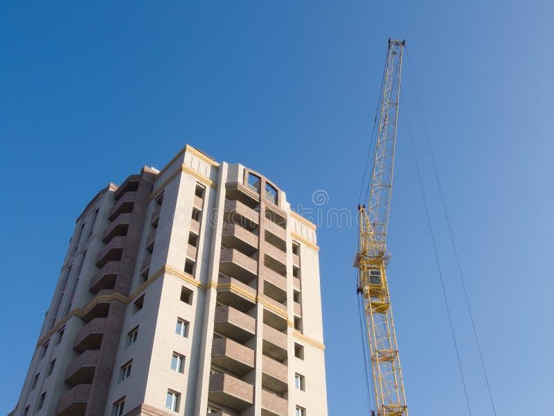 Luogo dei lavori di costruzione fotografia stock for Costo dei piani di costruzione