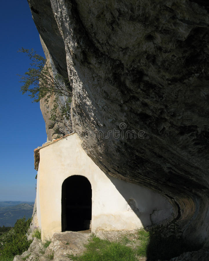 Luogo della cappella del trophine della st, Francia fotografia stock