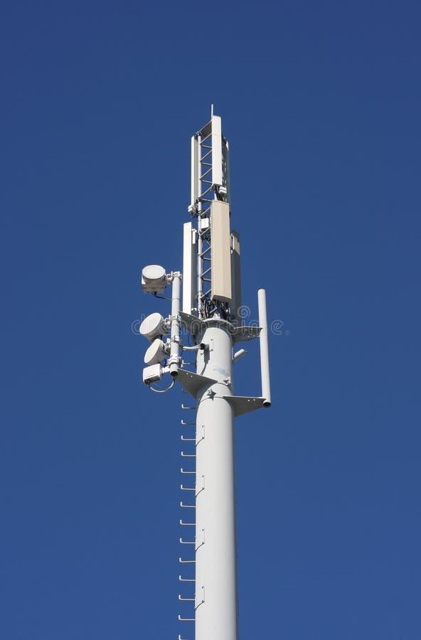 luogo delle cellule delle antenne fotografia stock