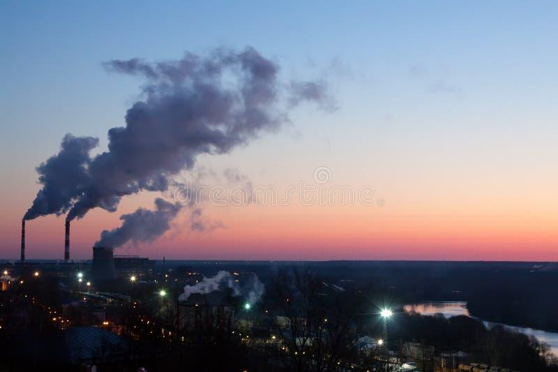 Luogo industriale a Vladimir immagine stock libera da diritti