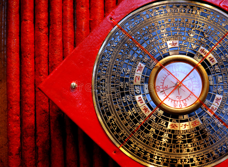Luopan compass stock images