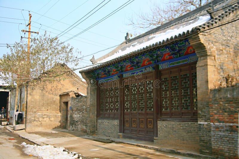 Luoyang Tuling slott royaltyfri fotografi