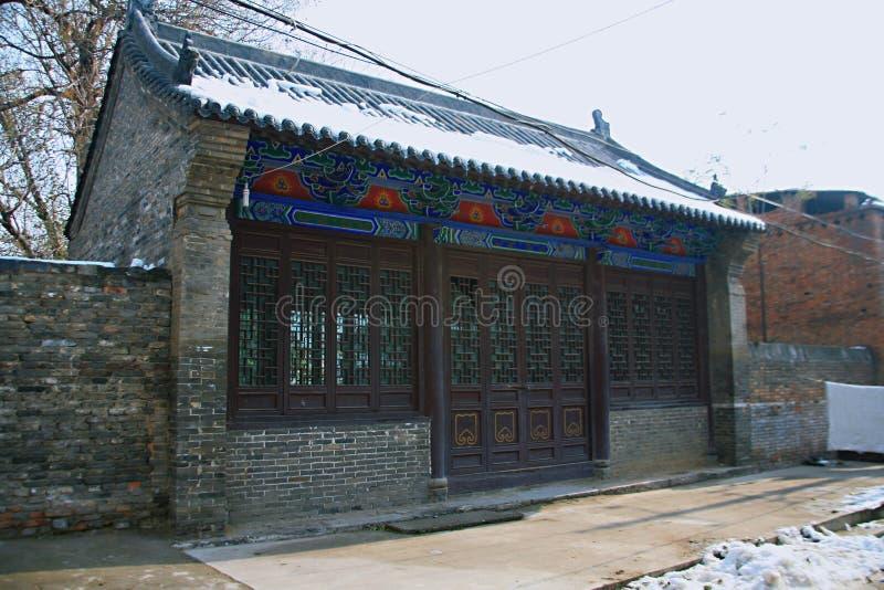 Luoyang Tuling slott fotografering för bildbyråer