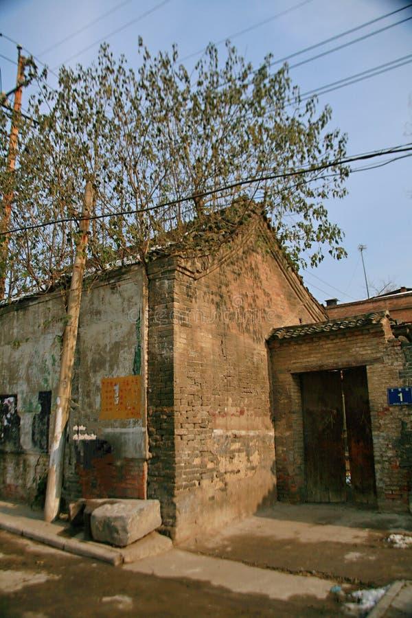 Luoyang Tuling slott royaltyfria foton