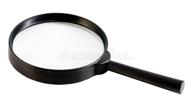 Lupe, vetro di ingrandimento fotografia stock