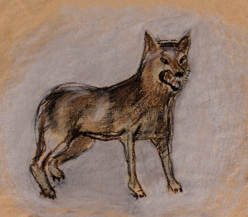 Download Lupo illustrazione di stock. Illustrazione di lupo, grin - 30830092