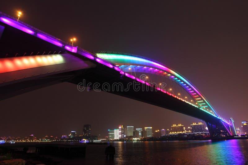 Lupu Bridge stock photography