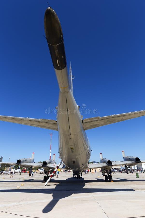 Luqa, Malta 26 settembre 2015: Marina statunitense Orione fotografia stock