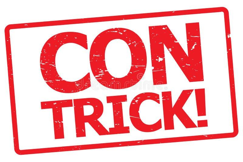 Lura tricket! stock illustrationer