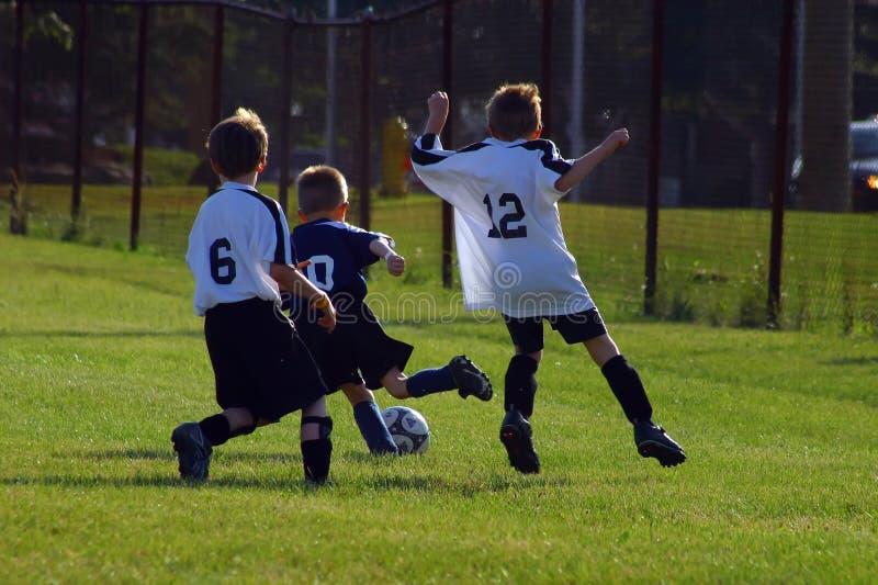 lurar fotboll fotografering för bildbyråer