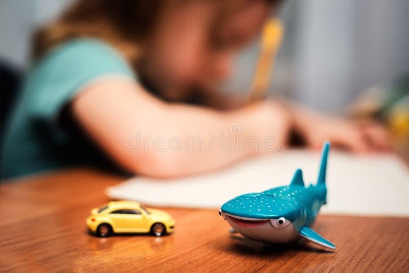 Lurar leksaker fotografering för bildbyråer
