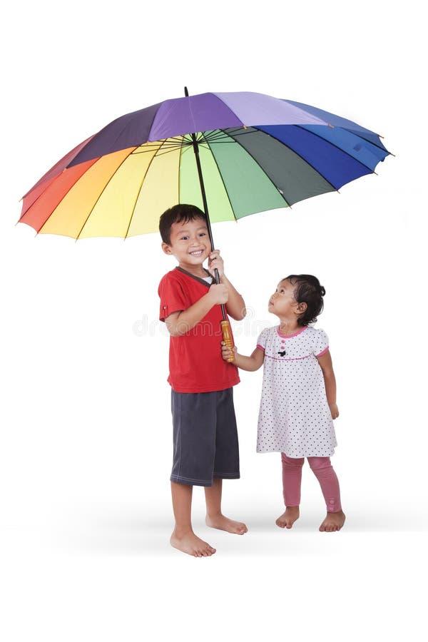 lurar paraplyet fotografering för bildbyråer