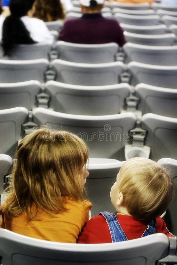 lurar stadion royaltyfri fotografi