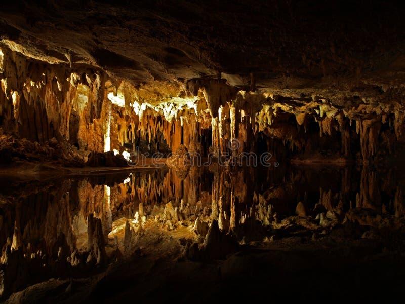 Luray Caverns en Luray, Virginia/los E.E.U.U., 2008 foto de archivo libre de regalías