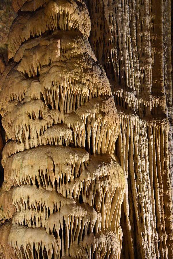 Luray Caverns w Luray, Virginia obraz stock